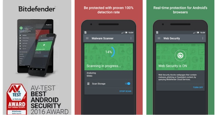 Download Bitdefender Antivirus Free for Android