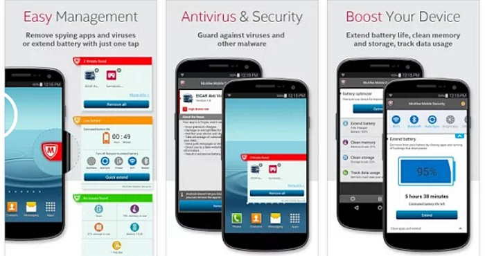 Download Mcafee Security Amp Power Booster For Android